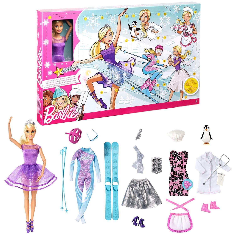 Calendrier Avent Barbie.Barbie Advent Calendar