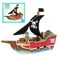 Qpack Pirate Boat