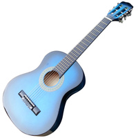 Acoustic Guitar Blue