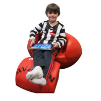 AFL Football Sofa Red