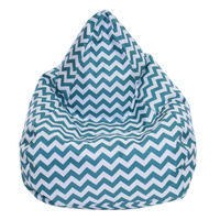 Bean Bag Chevron Green