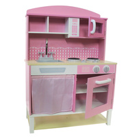 Pink Hampton Play Kitchen