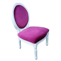 Louis Chair Pink Velvet