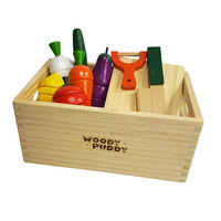Wooden Magnetic Vegetable Set