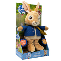 Talking Peter Rabbit Plush