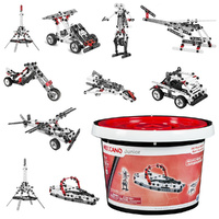 Meccano Junior 150 Piece Buckets