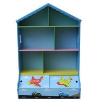 Playhouse Bookcase & Storage Blue