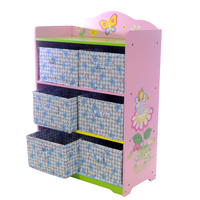 Storage Unit Pink Butterfly