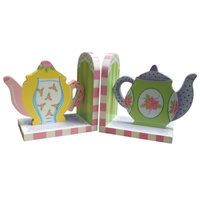 Bookends Tea Pot
