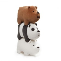 We Bare Bears 3 Pack Stackable