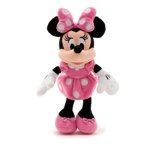 Minnie Mouse Plush PInk Small
