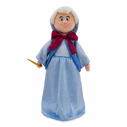 Fairy Godmother Plush Doll Medium Cinderella