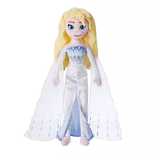 Elsa the Snow Queen Plush Doll Frozen 2 Medium