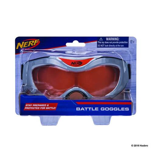 Nerf Battle Goggles in Orange and Grey