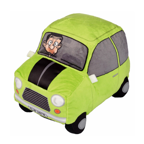 Mr Bean Plush Mini Car Plays Theme Song