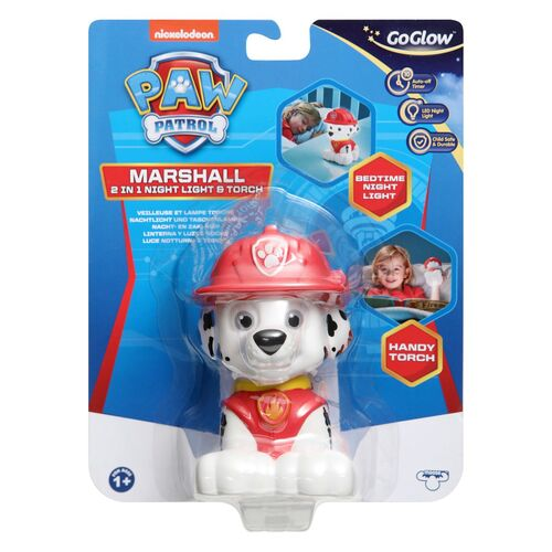 GoGlow Paw Patrol Marshall Nightlight and Torch