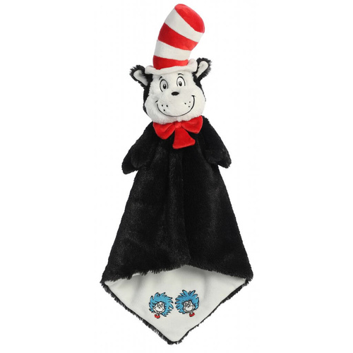 Dr Seuss Cat in the Hat Luvster Blanket Plush