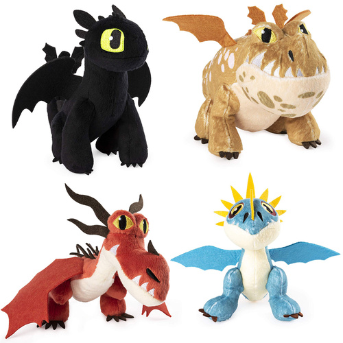 How To Train Your Dragon Plush Set