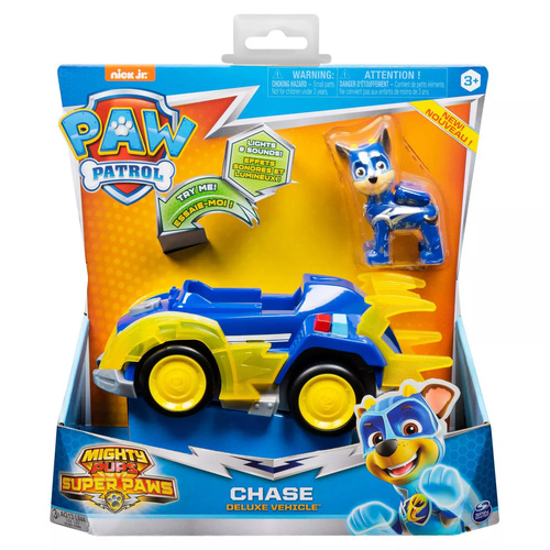 Paw Patrol Mighty Pups Super Paw Chase Deluxe Vehicle
