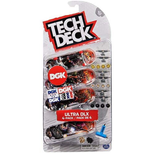 Tech Deck Fingerboard DGK Ultra DLX 4 Pack