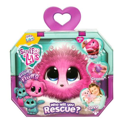 Scruff A Luvs Pink Rescue Pet