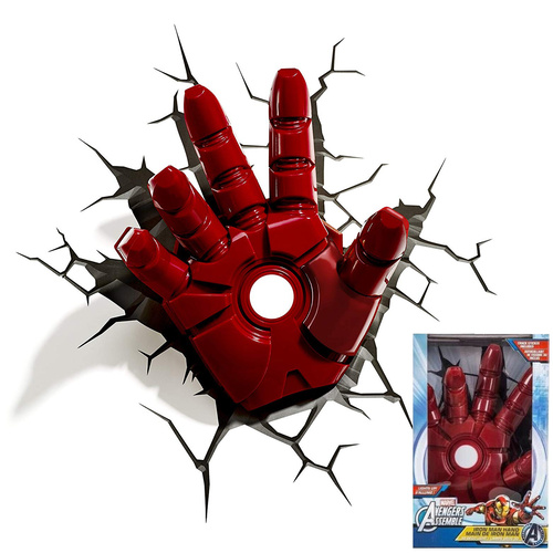Iron Man Hand Wall Night Light
