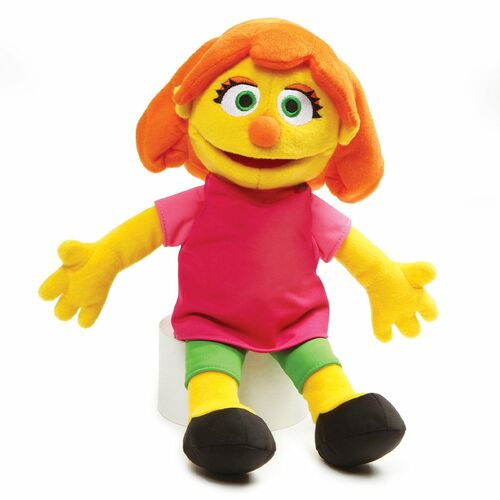 Julia Soft Toy Sesame Street