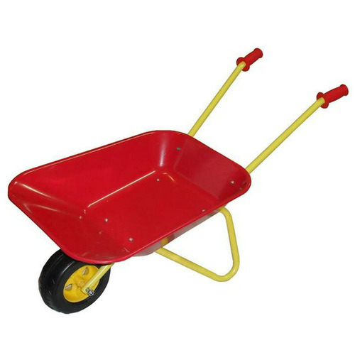 Kids Metal Wheelbarrow