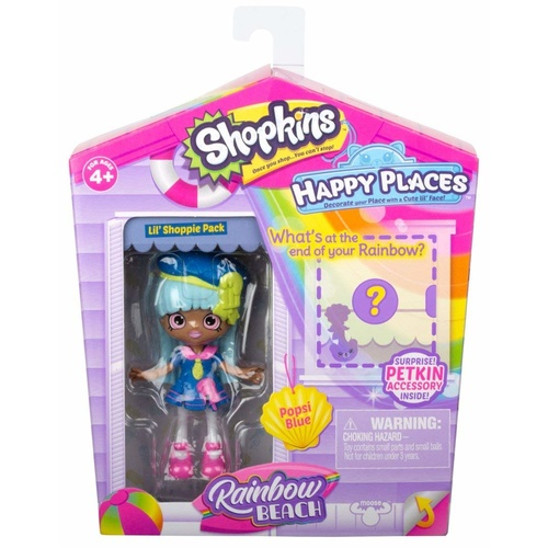 Happy Places Rainbow Beach Lil Shoppie Popsi Blue