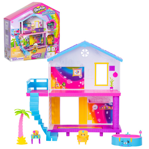 Shopkins Happy Places Beach House Playset