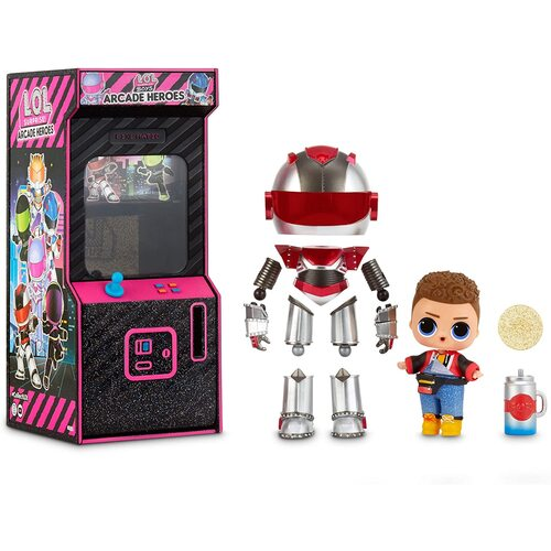 LOL Surprise! Boys Arcade Heroes Assorted