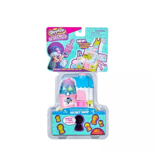 Shopkins Cool Scoops Cafe Secret Shop