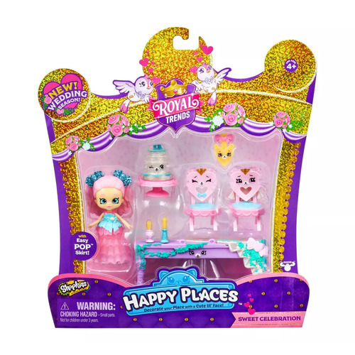 Shopkins Happy Places Royal Trends Sweet Celebration