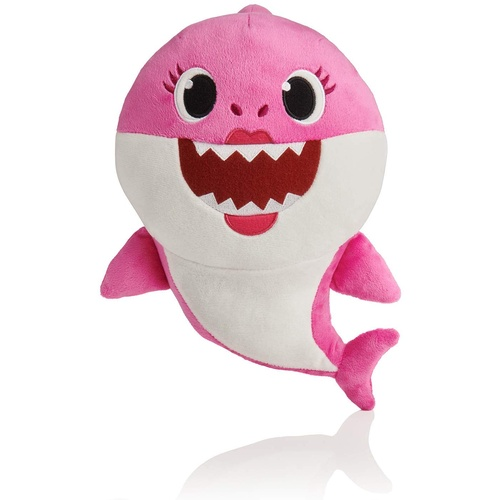 Mummy Pink Baby Shark Singing Plush Pinkfong