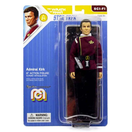 Mego Sci-Fi Star Trek Admiral Kirk Action Figure