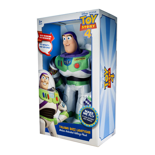 Motion Activated Talking Buzz Lightyear Plush