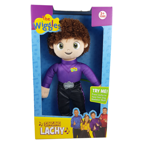 Singing Lachy Plush The Wiggles