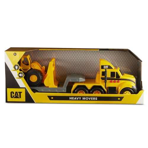 Cat Heavy Movers Trailer and Wheel Loader