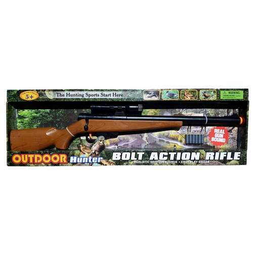 Electronic Bolt Action Classic Rifle Toy