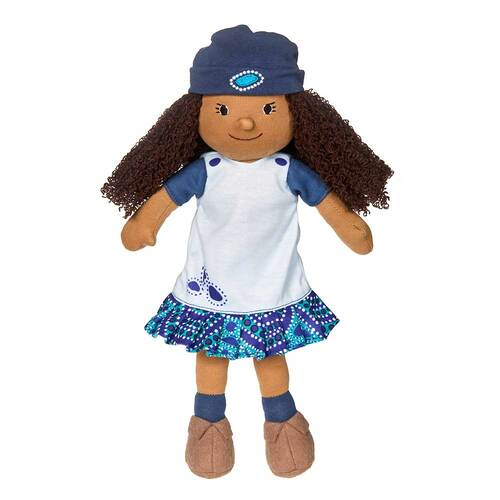 Kiya Indigenous Plush 32cm Play School