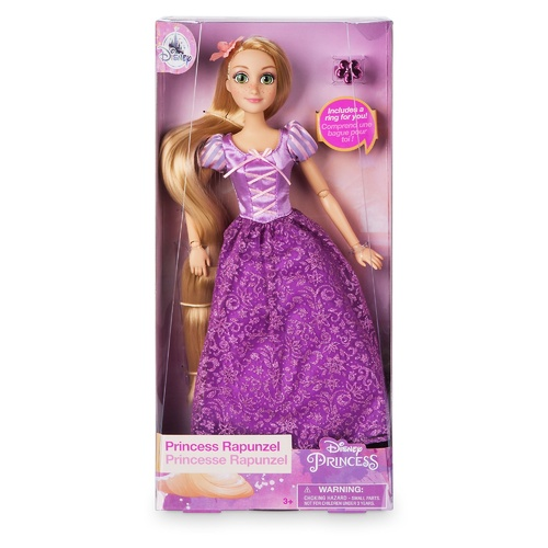 Princess Rapunzel Classic Doll with Ring