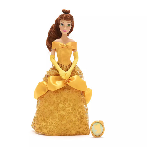 Belle Classic Doll with Pendant