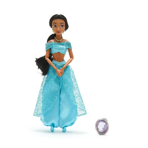 Disney Princess Jasmine Classic Doll with Pendant