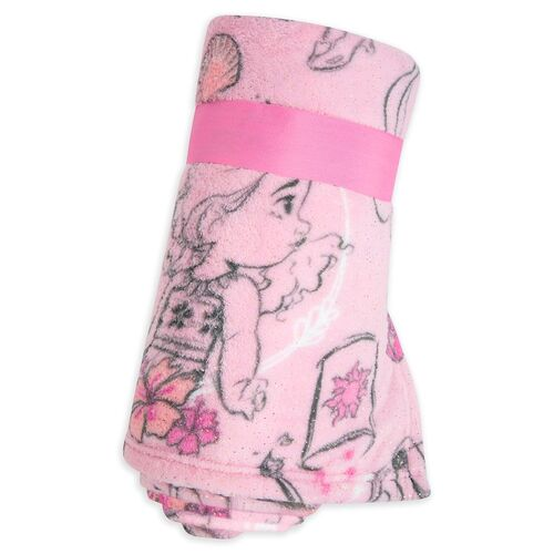Disney Animators Collection Fleece Throw Blanket