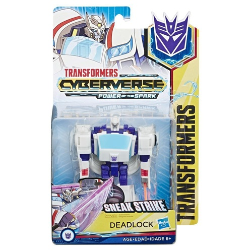 Transformers Cyberverse Warrior Class Deadlock Action Figure