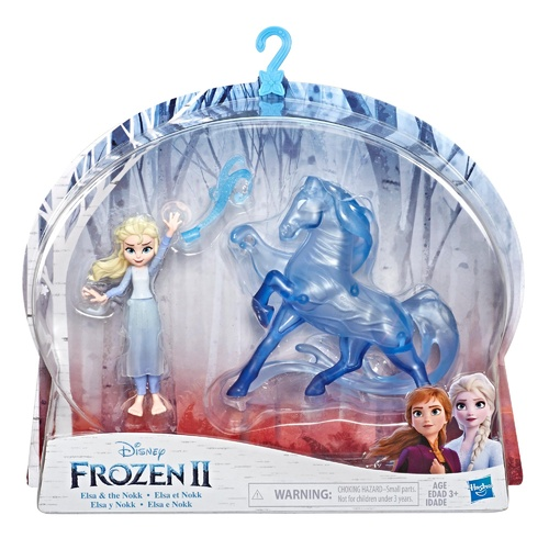 Disney Frozen Elsa Small Doll and the Nokk Figure