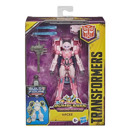 Transformers Cyberverse Deluxe Class Arcee Action Figure