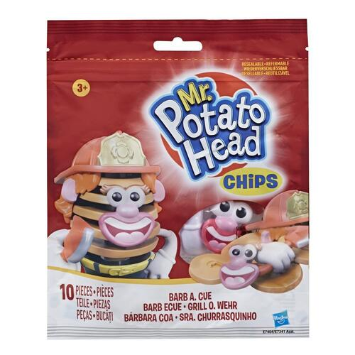 Mr Potato Head Chips Toy Barb A Cue