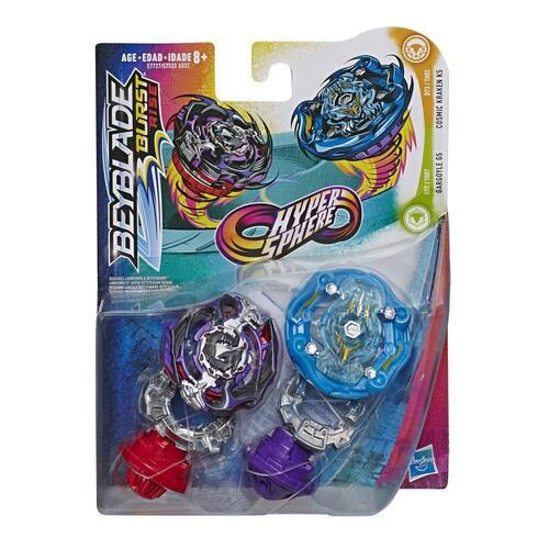 Beyblade Burst Rise Hypersphere Dual Pack Cosmic Kraken K5 and Gargoyle G5