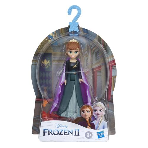 Disney Frozen Queen Anna Small Doll With Removable Cape